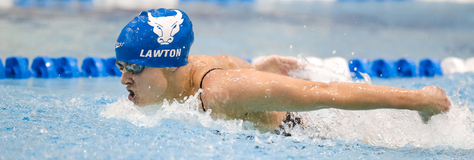 Photo of UB Swimming athlete Jillian Lawton